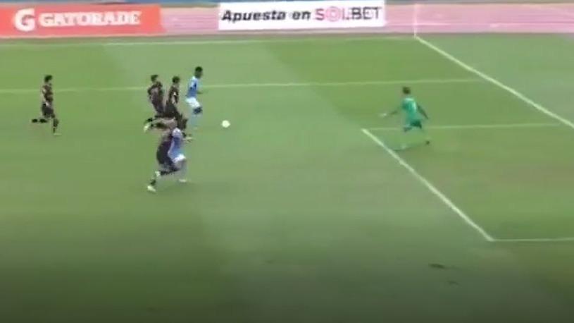 El gol de Nilson Loyola en el Sporting Cristal vs. Cusco FC.