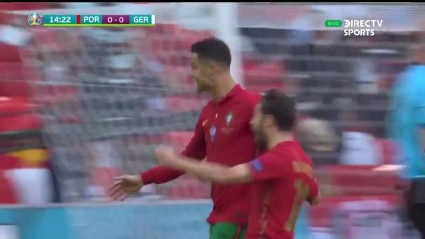 Cristiano Ronaldo anotó 1-0 para el gol de Portugal sobre Alemania