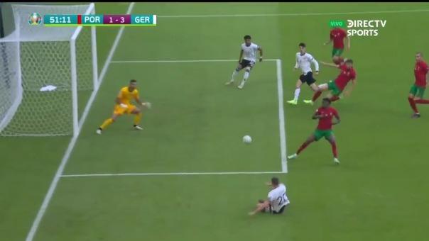 Kai Havertz convirtió el 3-1 de Alemania ante Portugal