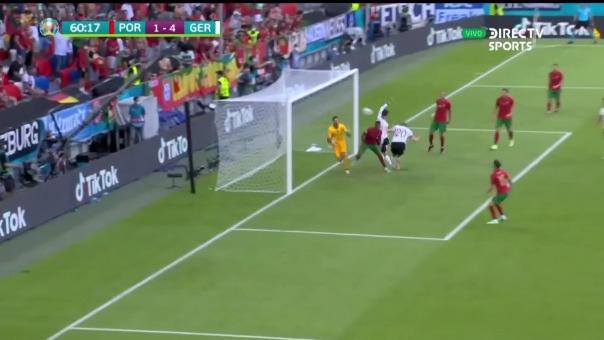 Robin Gosens decretó el 4-1 de Alemania