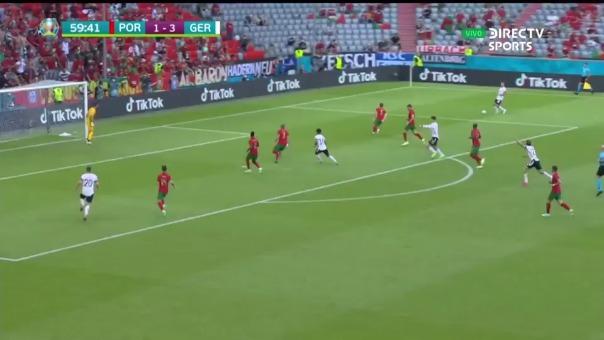 Gosens puso el 4-1 de Alemania ante Portugal