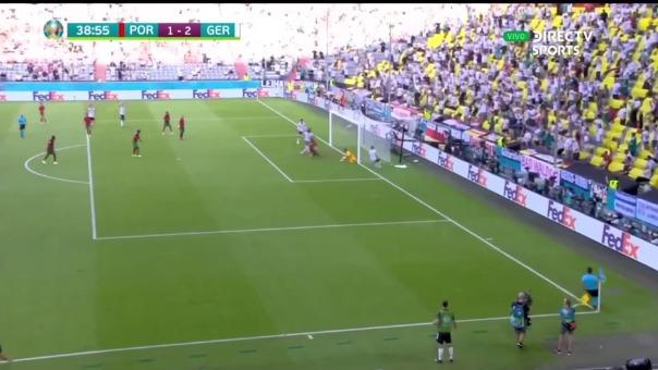 Portugal 1-2 Alemania: así fue el autogol de Guerreiro