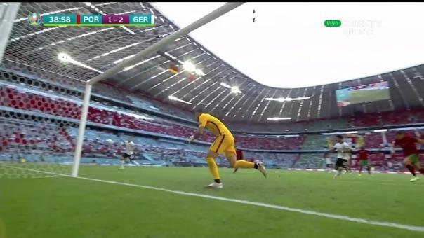 Portugal 1-2 Alemania: así fue el gol de Guerreiro