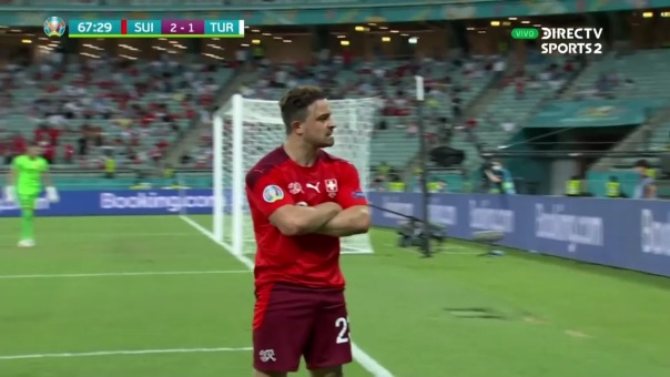 Suiza 3-1 Turquía: así fue el gol de  Xherdan Shaqiri