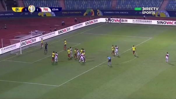 Colombia 1-2 Perú: así fue el autgol de Sergio Peña