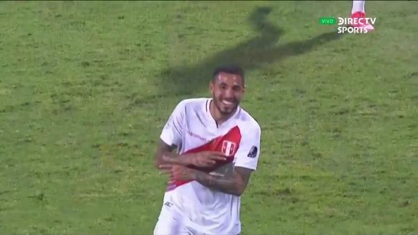 Perù vs Ecuador: así fue el gol de Sergio Peña