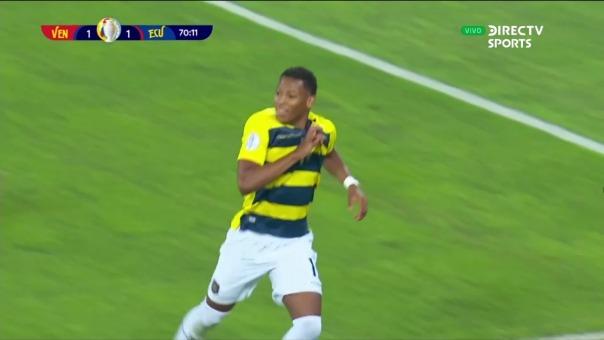 Así fue el gol de Gonzalo Plata de Ecuador ante Venezuela