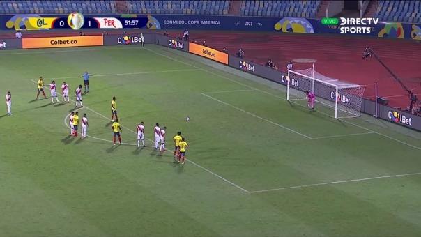 Colombia 1-1 Perú: así fue el gol de Miguel Borja
