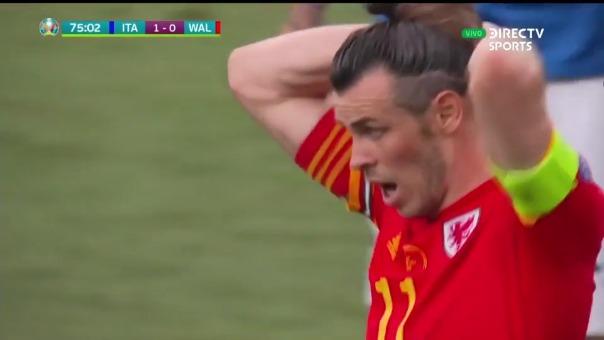 Gareth Bale falló ante Italia.