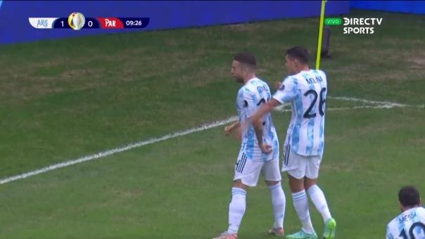 Argentina 1-0 Paraguay: así fue el gol de Papu Gómez