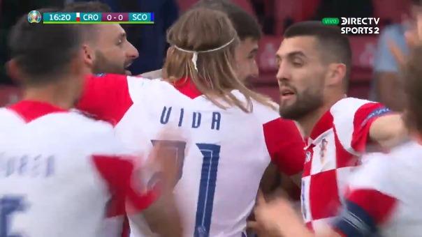 Croacia vs Escocia: así fue el gol de Nikola Vlasic