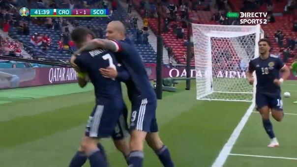 Croacia vs Escocia: así fue el gol de Callum McGregor