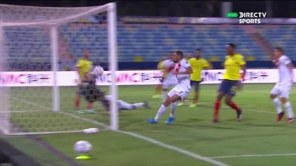 Con autogol de Yerry Mina, Perú venció a Colombia por Copa América