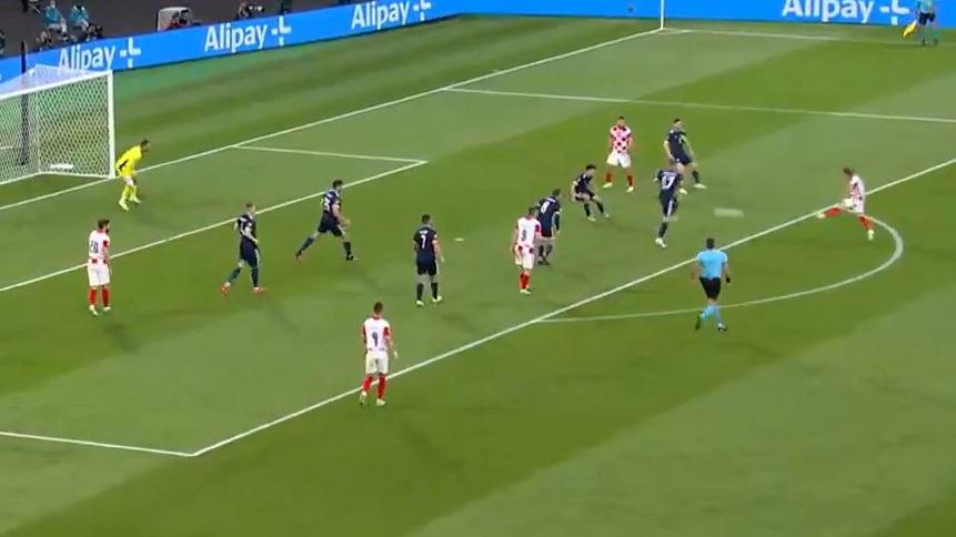 El golazo de Luka Modric para la Selección de Croacia.