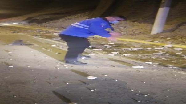 El sismo provocó desprendimiento de piedras en la Costa Verde.