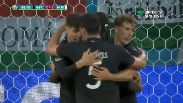 Kai Havertz convirtió el 1-1 de Alemania ante Hungría