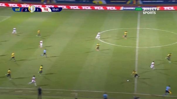 Perú 2-2 Ecuador: así fue el gol de André Carrillo