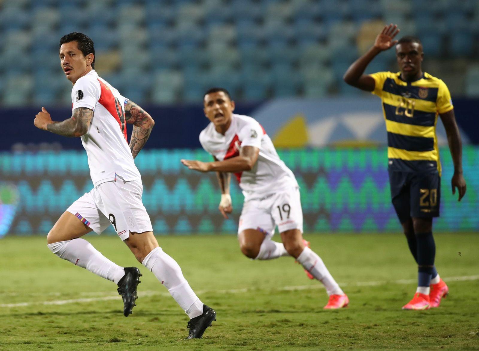 Agónico! Perú empató 2-2 ante Ecuador por la Copa América