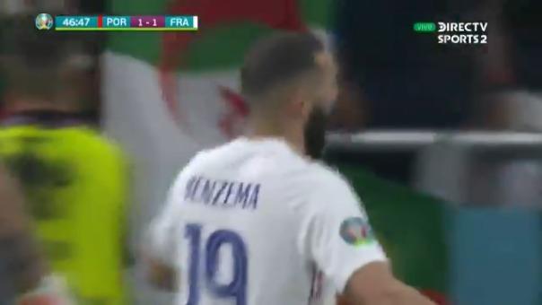 Doblete de Benzema en el 2-1 de Francia sobre Portugal