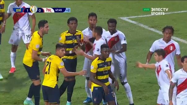 Ecuador 2-0 Perú: así fue el gol de Preciado