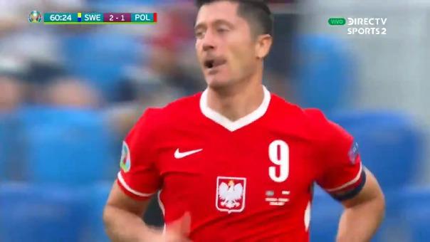 Primer gol de Robert Lewandowski.