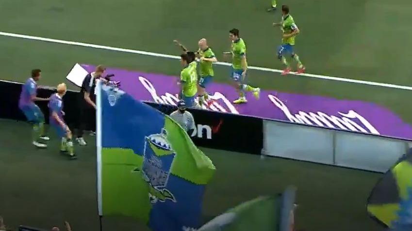 Así fue el gol de penal de Raúl Ruidíaz ante Real Salt Lake.