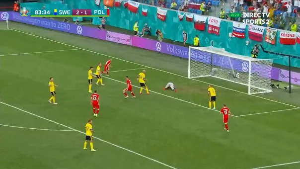 Segundo gol de Lewandowski
