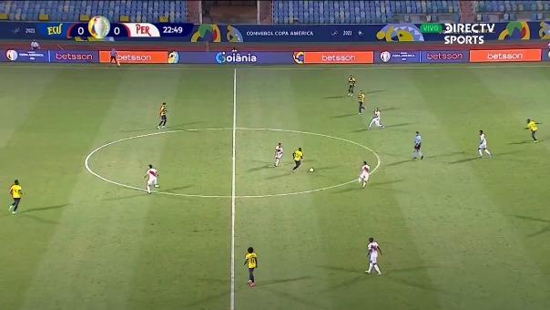 Ecuador 1-0 Perú: así fue el autogol de Tapia