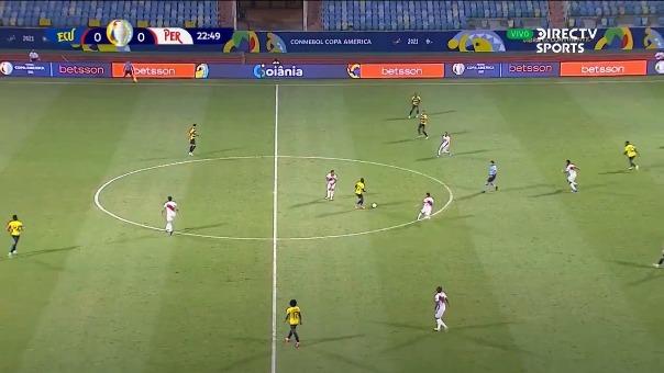 Ecuador vs Perú: así fue el autogol de Renato Tapia