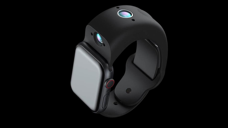 Wristcam es una correa para Apple Watch con dos cámaras.