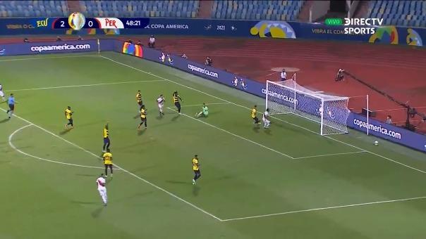 Ecuador 2-1 Perú: así fue el gol de Gianluca Lapadula