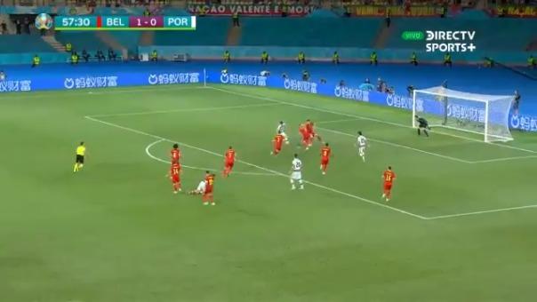 Diogo Jota se perdió el empate tras gran jugada de Cristiano Ronaldo