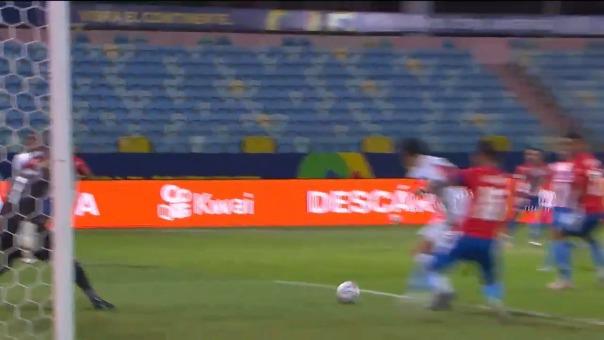 Jugada del empate 1-1 de Perú vs. Paraguay con Gianluca Lapadula