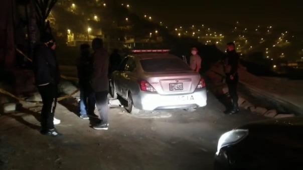 Vecinos de la zona reclamaron por la falta de seguridad en la zona.