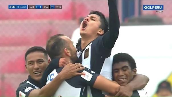Alianza Lima 2-1 Ayacucho FC: así fue el gol de Jairo Concha
