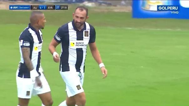 Alianza Lima 4-1 Ayacucho: así fue el gol de Arley Rodríguez