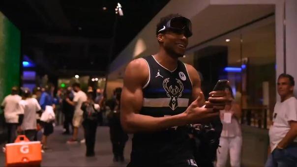 Giannis Antetokounmpo MVP de las finales de NBA
