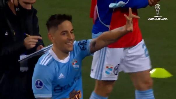 Alejandro Hohberg anotó doblete en la ida ante Arsenal