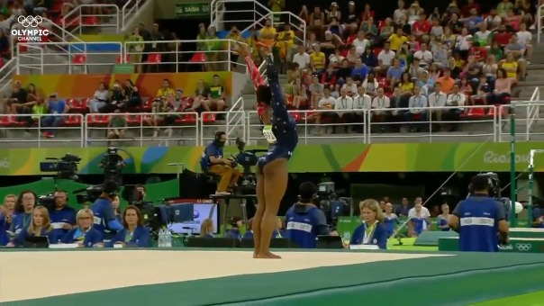 Simon Biles fue la sensación de la gimnasia en Río 2016