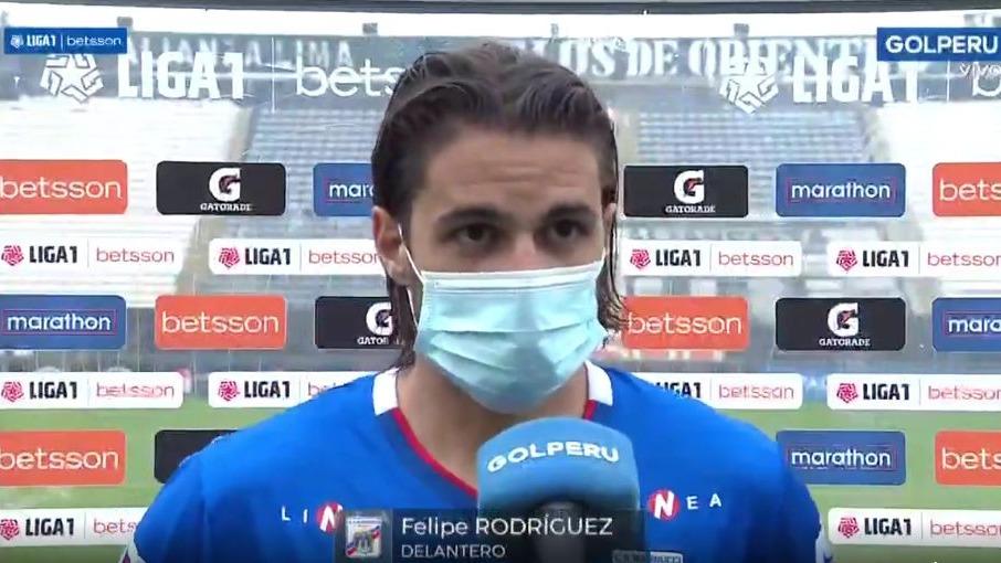 'Felucho' envió un importante mensaje tras partido por la Liga1.