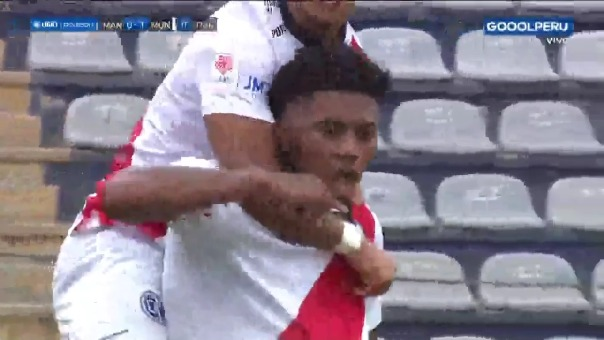 Municipal 1-0 Mannucci: así fue el gol de Erinson Ramírez