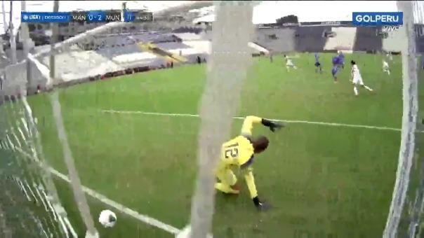 Municipal 2-0 Mannucci: así fue el segundo gol de Erinson Ramírez