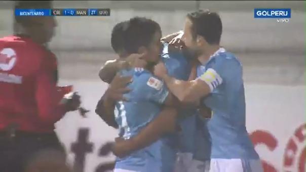Percy Liza anotó el 1-0 de Sporting Cristal sobre Mannucci