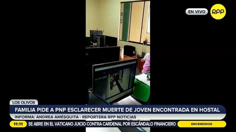 La muerte ocurrió en una habitación del hostal Asturias, en Los Olivos.