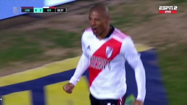 River Plate vs Lanús: así fue el segundo gol Nicolás de La Cruz