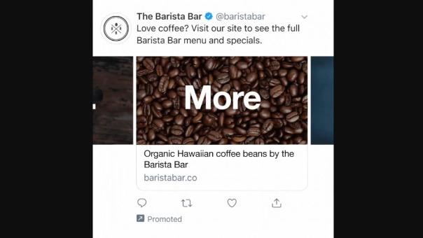 Twitter está probando una nueva función de compra para empresas en su plataforma.