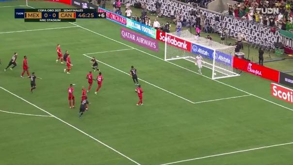 México 1-0 Canadá: así fue el gol de Orbelín Pineda