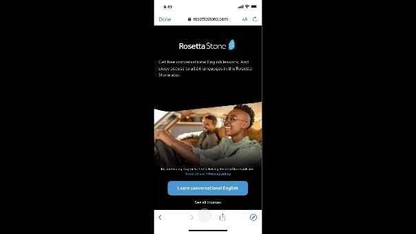 Uber se asocia con Rosetta Stone para ofrecer clases de idiomas gratuitas a sus conductores.