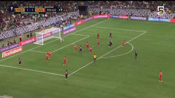 México 2-1 Canadá: así fue el gol de Héctor Herrera