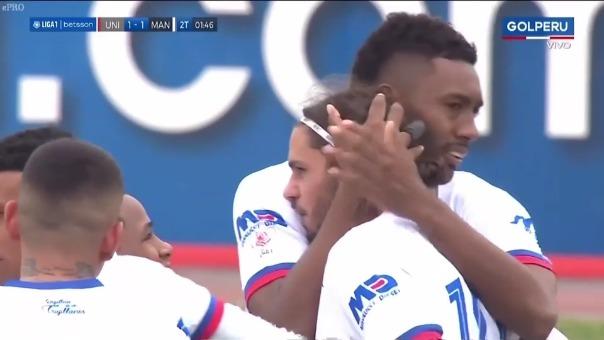 Universitario 1-1  Mannucci: así fue el gol de Felipe Rodríguez